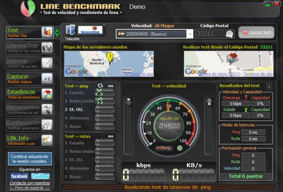 BASpeed, una suite para comprobar el estado de la red