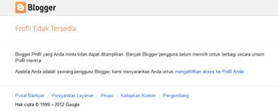 Blogger Profil TIdak Tersedia