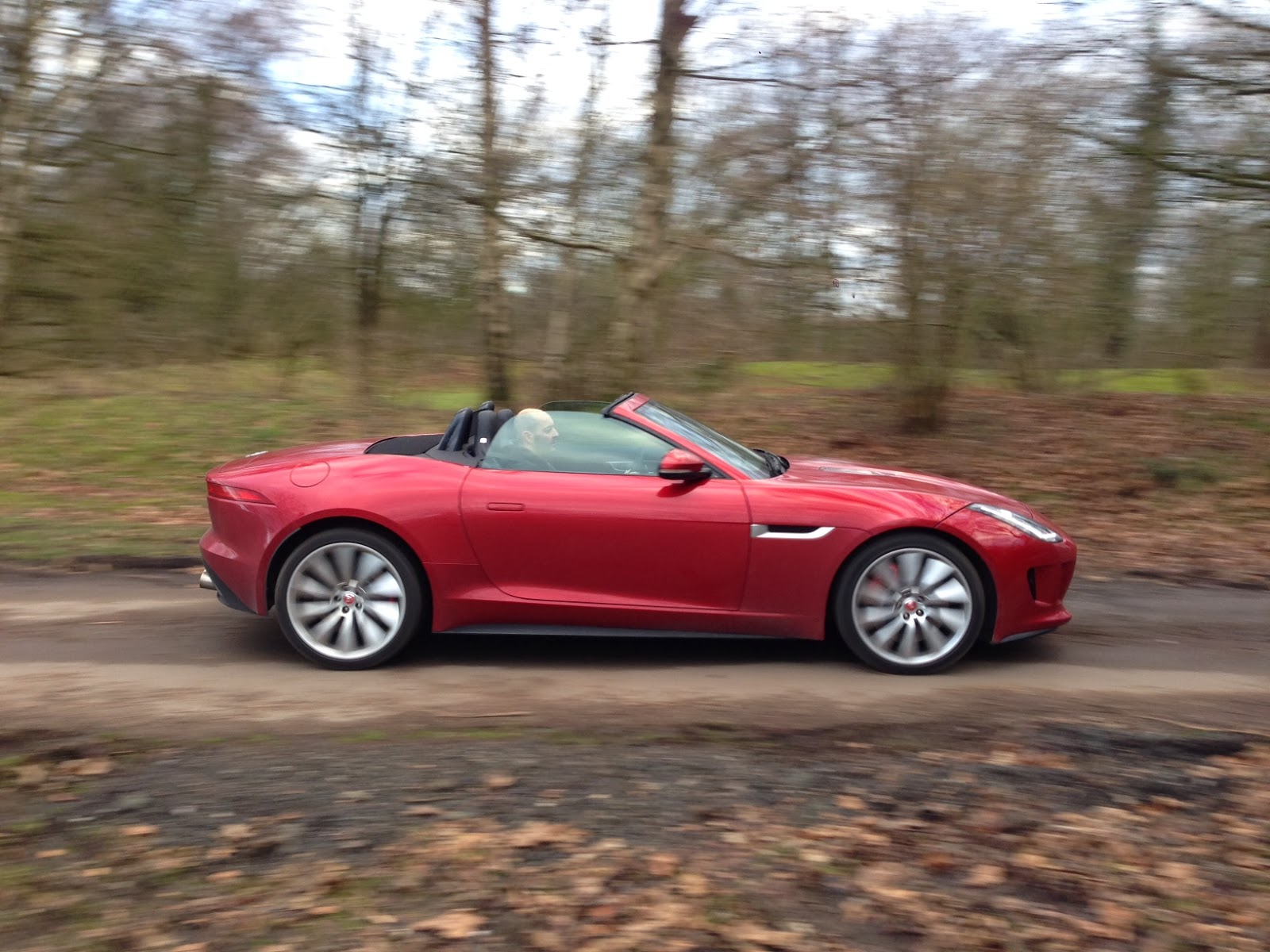 2014 Jaguar F-Type V8 S Convertible in Italian Racing Red