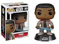 Funko Pop! Finn with Light Saber