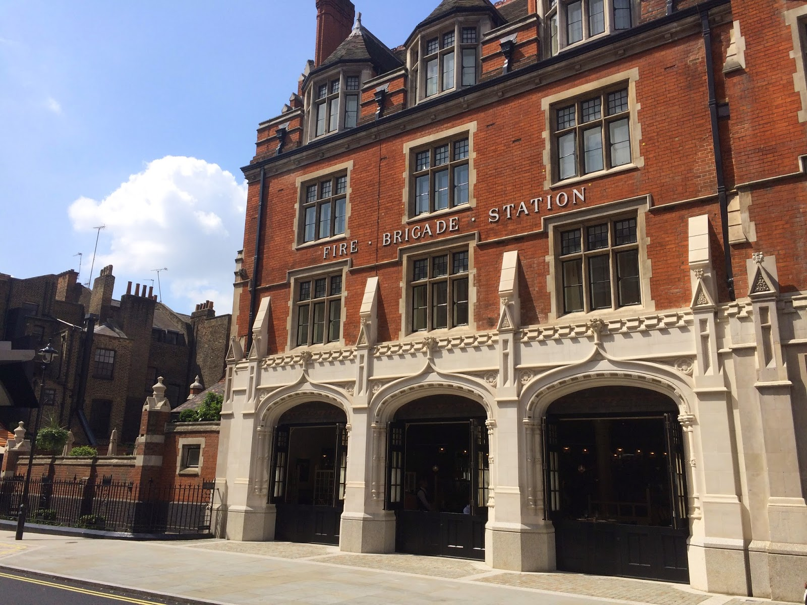 The Chiltern Firehouse restaurant and bar Marylebone
