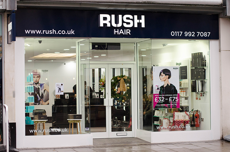 Rush Hair Salon Opens In Bristol The Style Rawr