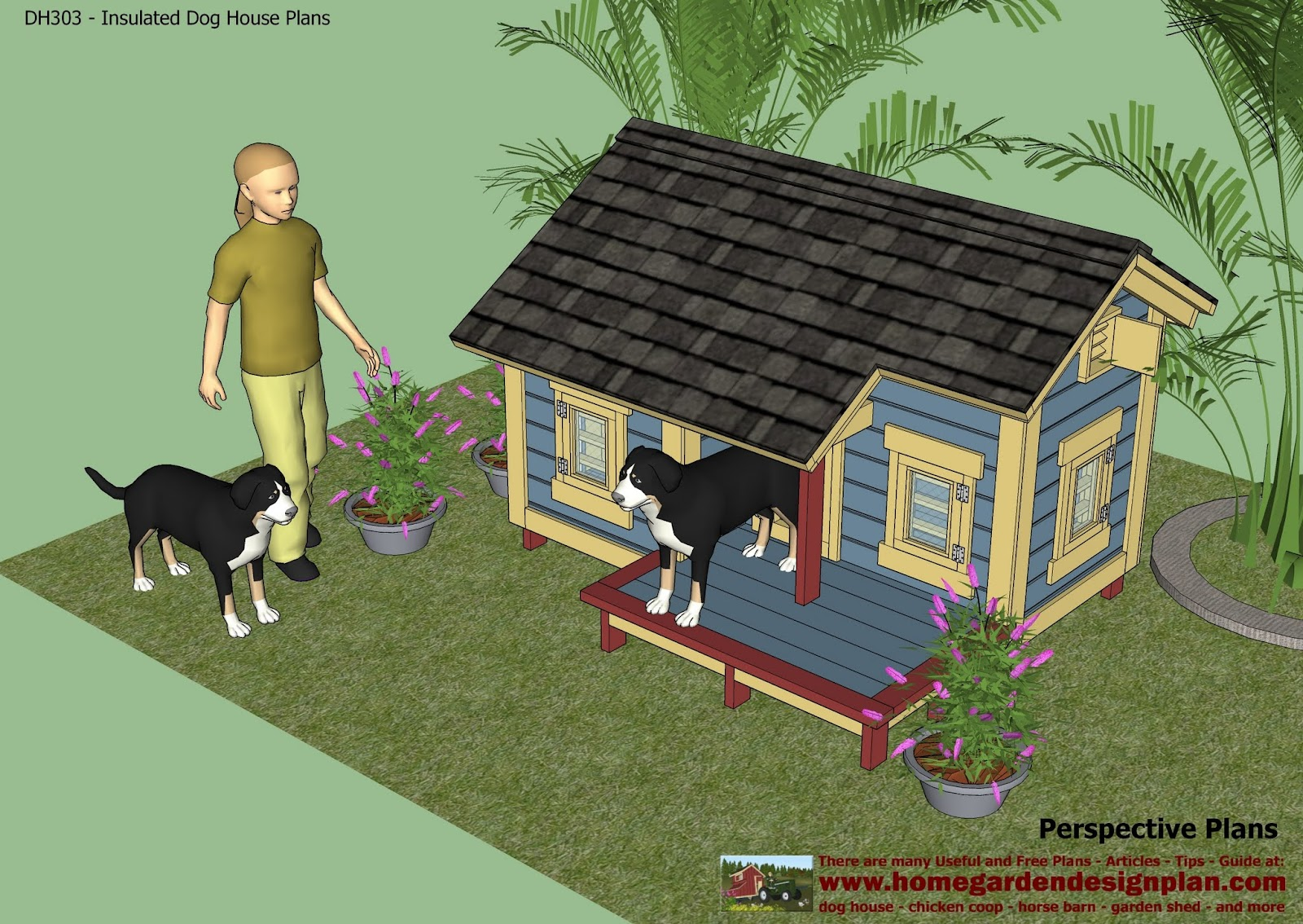 House cleaning dog free house cleaning video for Insulated dog house plans pdf