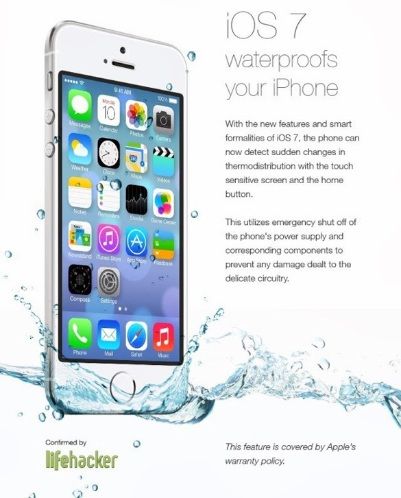 iOS7 Waterproof