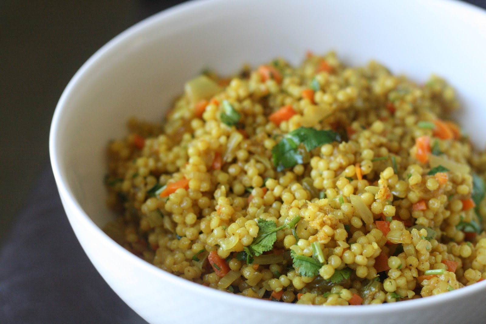 israeli couscous curried pearl couscous with israeli couscous 2