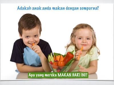 makanan seimbang kanak-kanak