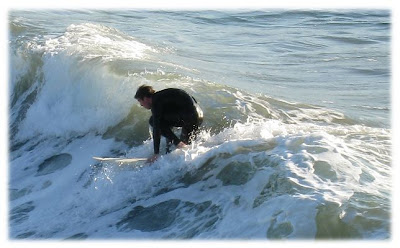 Manhattan Beach Surfer caught with a Canon