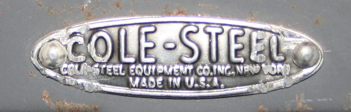 Cole Steel Once Boasted That It Was World Famous For Filing Cabinets,  Office Chairs, Steel Desks, Blueprint Cabinets, Shelving Units, Storage  Cabinets And ...