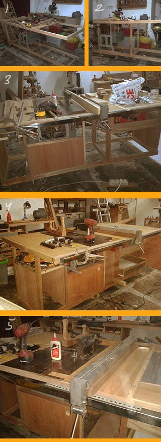 Build My Workbench, Planer, Table Saw, Fences with T-Square