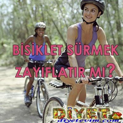 bisiklet sürerken