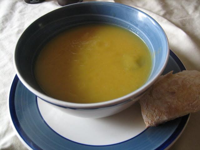 Equal Opportunity Kitchen: Jerusalem Artichoke Soup
