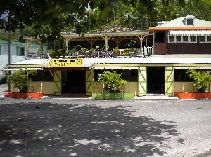 Devanture du restaurant Alberi