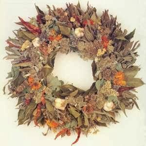 Decoración Navideña, Coronas con ramas Secas