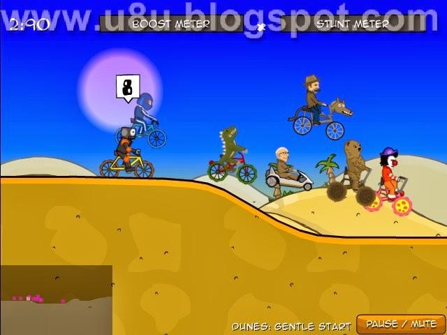 لعبة الدرجات المجنونة Cyclo Maniacs