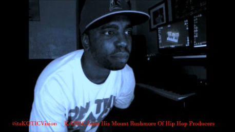 Mount Rushmore K-OTIC Lists Top 4 Hip Hop producers of all time picture interview image
