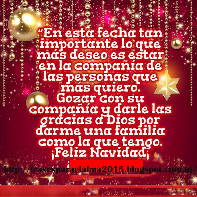 Frases para el alma mi oraci n por ti esta navidad - Navidad en familia frases ...
