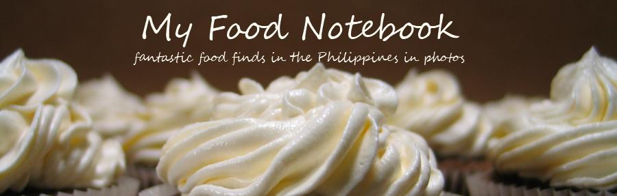 My Food Notebook
