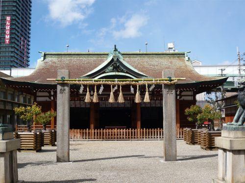 今宮戎神社拝殿