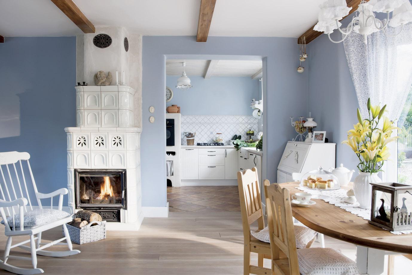 Amenajarea unei case de la ar jurnal de design interior for New country style homes
