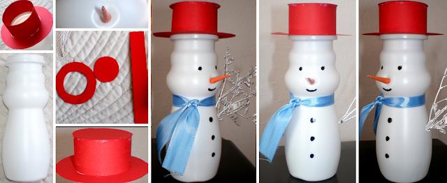 paper snowman
