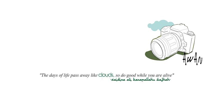 awan berarak sepi