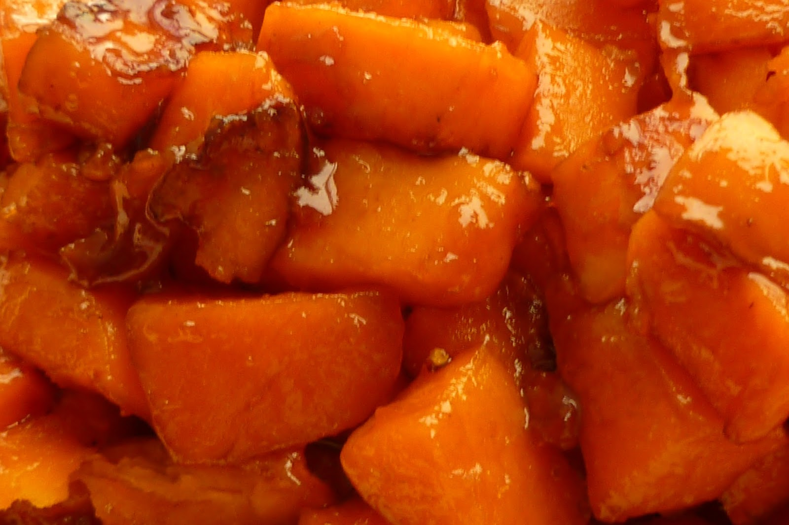 The Pastry Chef's Baking: Caramelized Sweet Potatoes