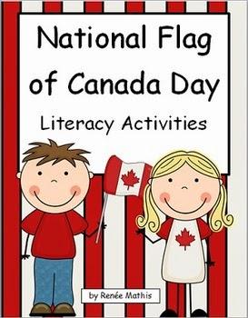 http://www.teacherspayteachers.com/Product/National-Flag-of-Canada-Day-Literacy-Activities-544179