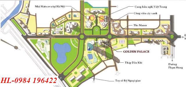 Hà Nội: @&đqpp Chung cư Golden palace mễ trì từ liêm, Thá B-C||Golden palace me tri,giá 27tr