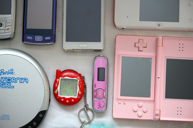 The Gadgets Of My Childhood tamagotchi Nokia LG MP3 Player