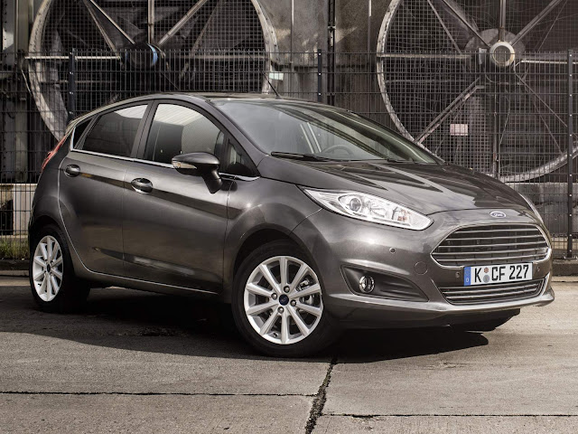 Ford New Fiesta Grey Magnetic