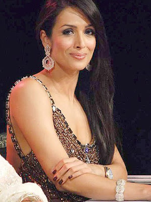 Malaika Arora Diamond Hoop Earrings