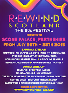 Rewind Scotland - The 80s Festival