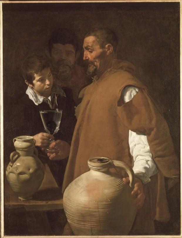 Diego Velasquez - le vendeur d'eau de Seville c.1620