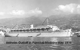 """O navio alemão """"Wilhelm Gustloff"""""""