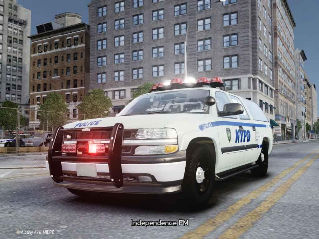 NYPD ESU Van ( ESU = NYPD SWAT Team ) replaces nstockade
