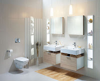 Łazienka Koło w drewnie
