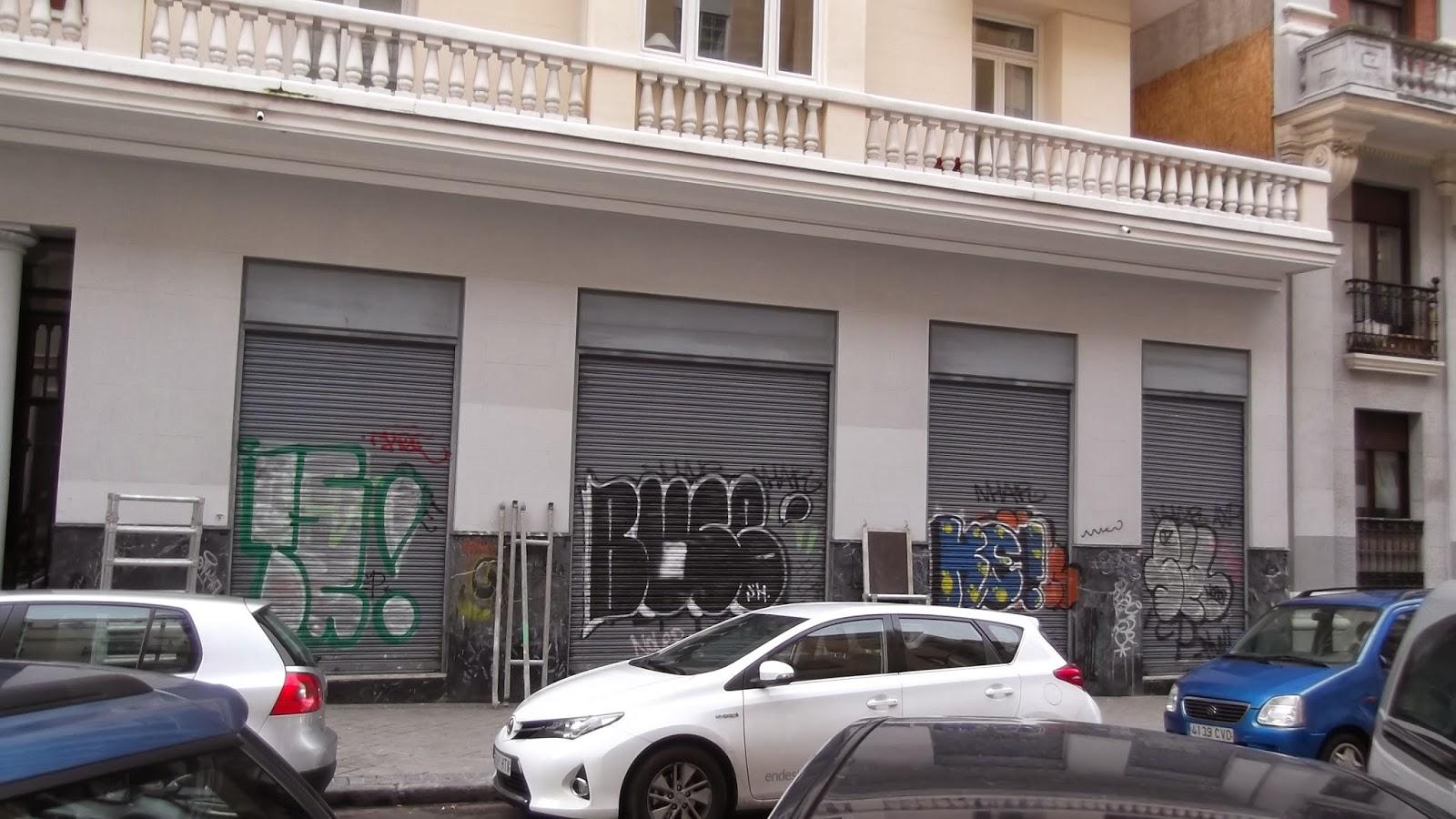 """""""Mural"""", """"ISDI"""", """"Liquitex"""";""""streetart"""",""""Arte urbano"""",""""Calle Viriato"""",""""Madrid"""""""