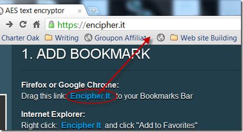 image thumb182 Encrypt Gmail, Facebook dan Text pesan