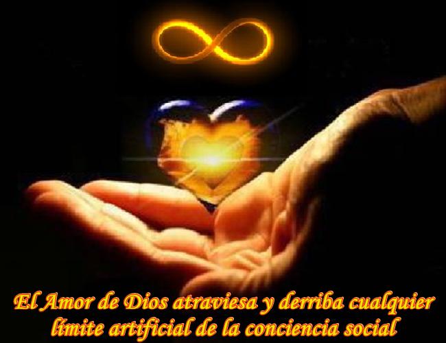 El Amor de Dios les permite liberarse de cualquier obstáculo que los detiene en sus Caminos