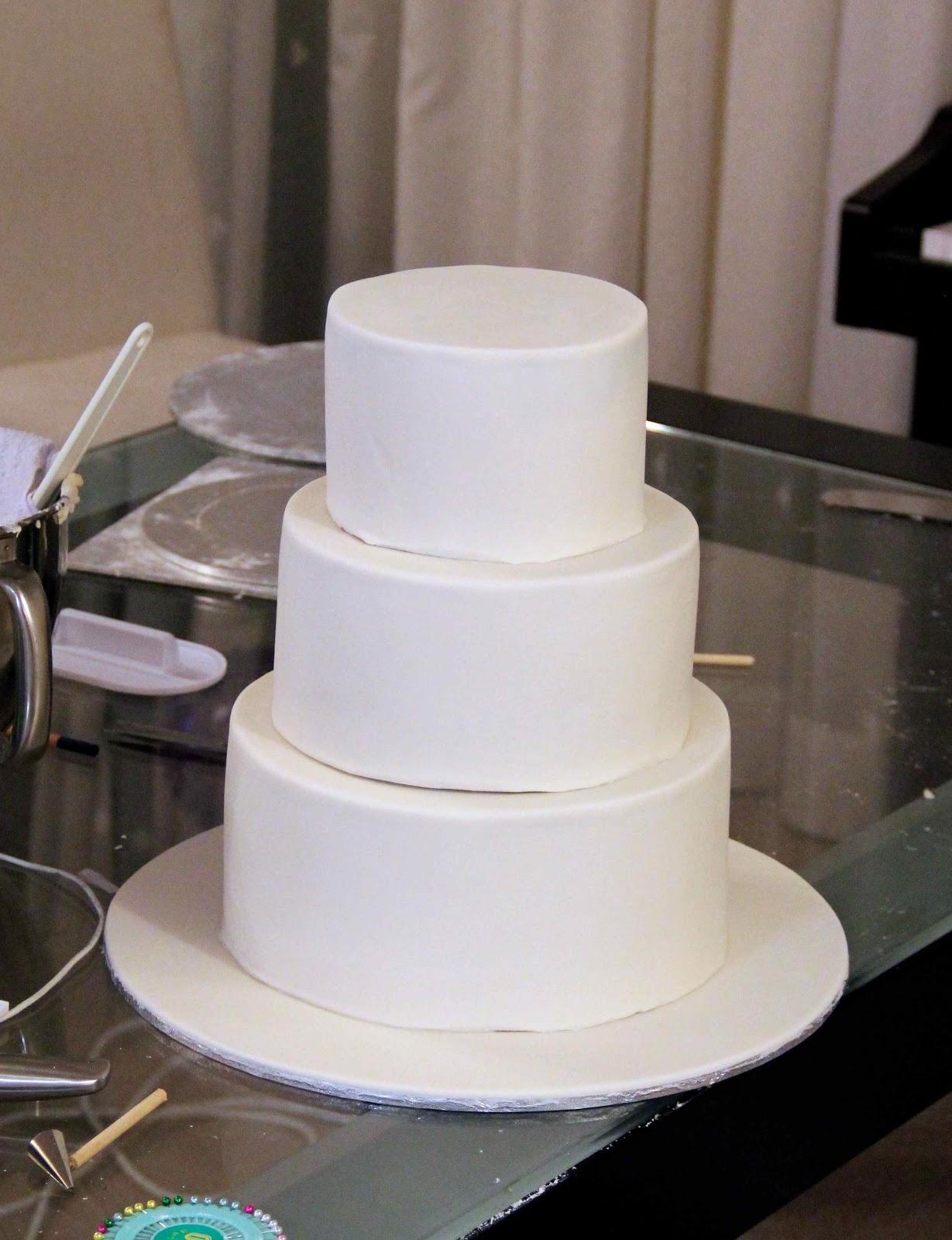 Bakerz Dad: Rose Wedding Cake
