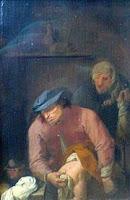 Poniendo pañales A. Brouwer 1631
