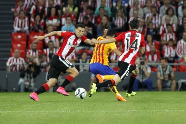 اهداف مباراة أتلتيك و برشلونة 4-0