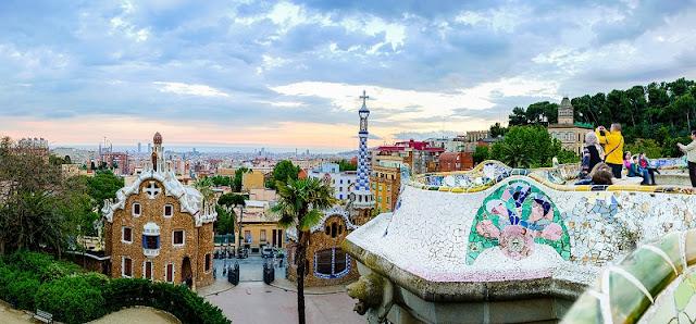 Lugares para ver Barcelona do alto