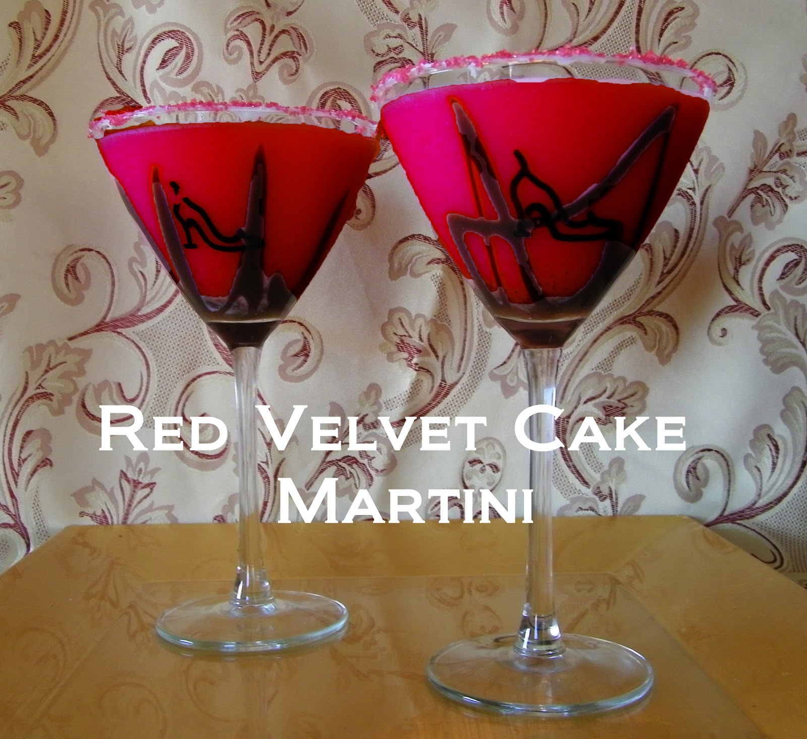 ... Events, & Travel: Fabulous FG Friday Cocktail: Red Velvet Cake Martini