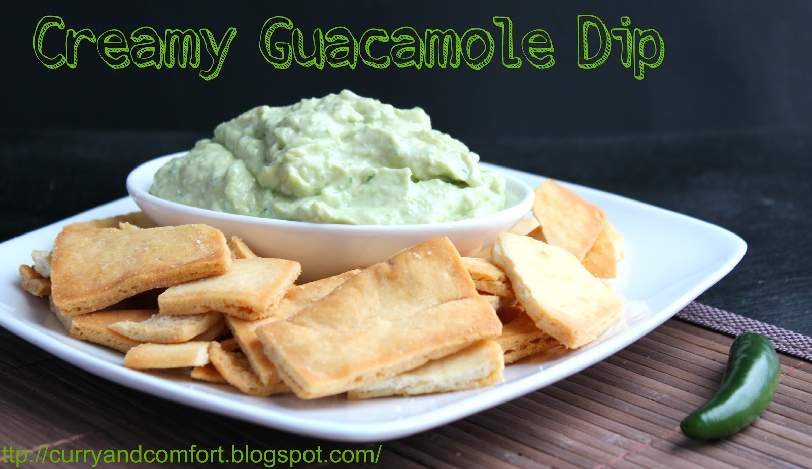 Curry and Comfort: Spicy and Creamy Guacamole Dip