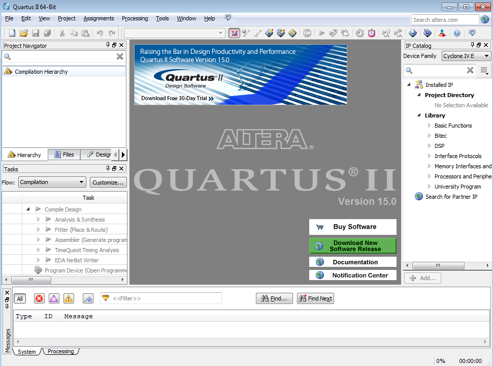digital electronics with altera quartus This document provides late-breaking information about device support in the 100 sp1 version of the altera® quartus® ii software for information about disk space and system requirements, refer to the readmetxt file in your altera//quartus directory.