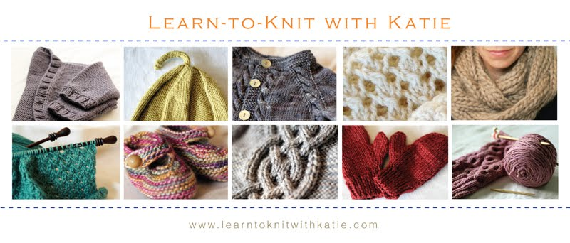 Blog: Learn-to-Knit with Katie