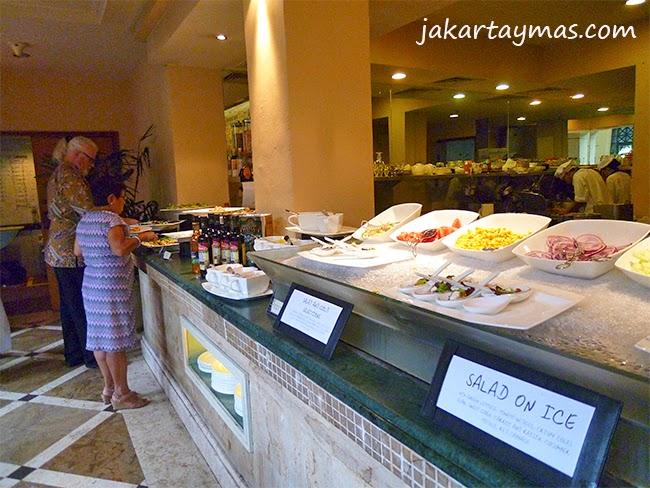 La comida del hotel Hyatt Regency en Yogyakarta