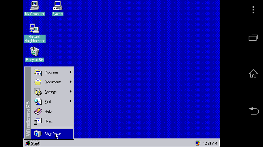 News, Tips, Tricks and Hacks: Run Windows 95 on Android Devices