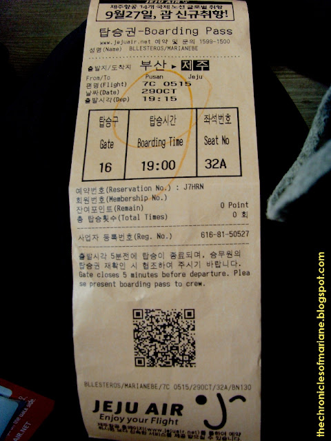 jeju air ticket